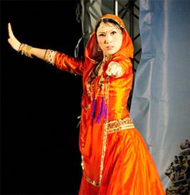 ドゥルガー女神のダンス